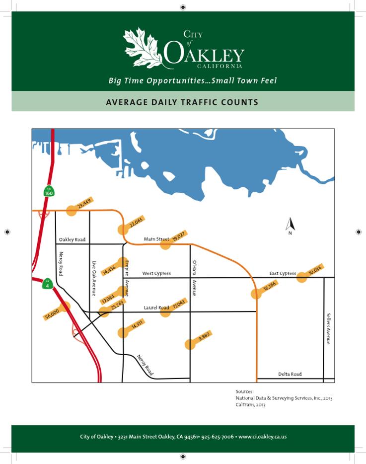 Traffic Counts - Oakley | Kimball Associates, Inc